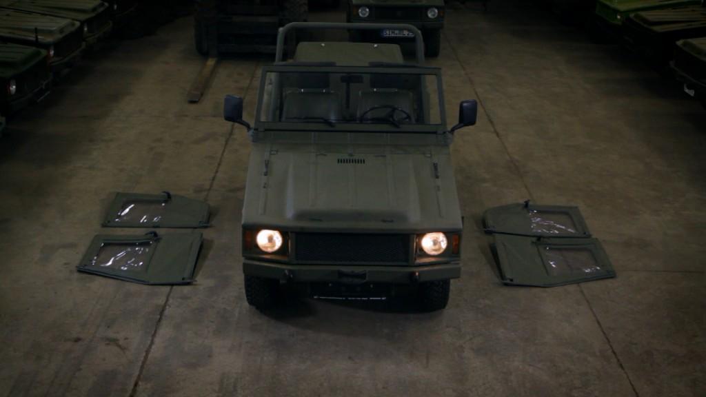 VW Iltis ohne Dach